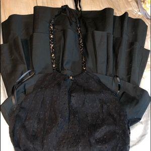 Gorgeous black cocktail dress..
